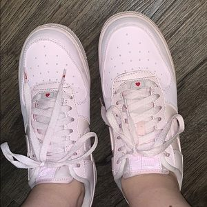 Nike Shoes | Rare Baby Pink Air Force
